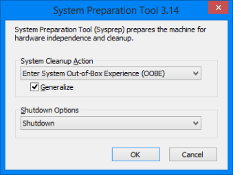 Using imagex exe, Sysprep and WinPE to clone a Windows 7 PC