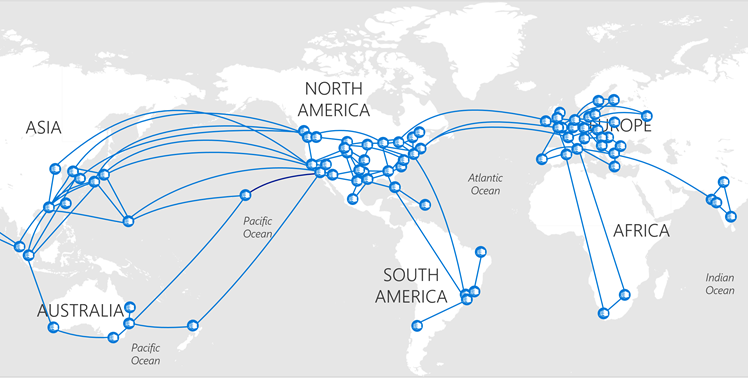 Microsoft Global WAN